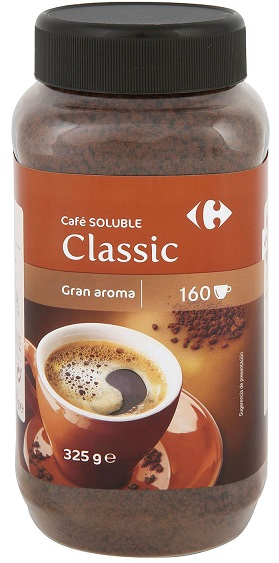 cafe soluble carrefour