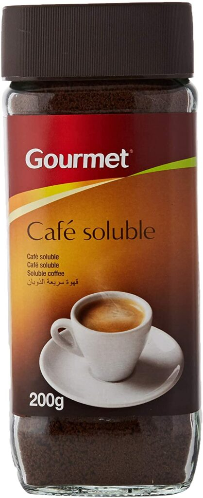 cafe soluble gourmet
